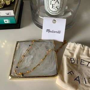 ✨NWT✨ Madewell Necklace In Yellow Gold